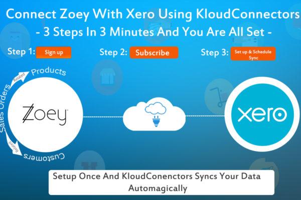 Zoey To XERO Connector.