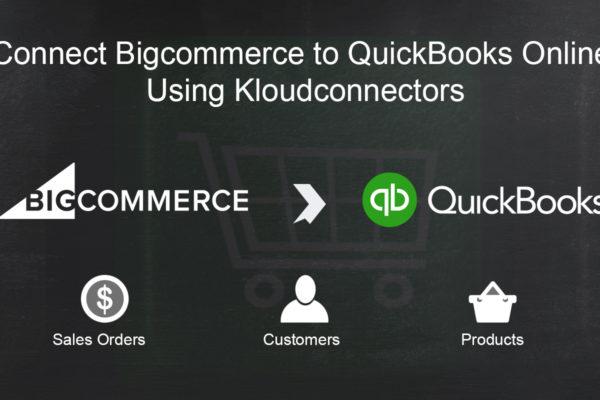 Bigcommerce to QuickBooks Online