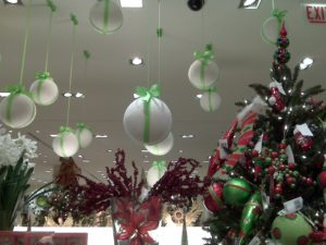 Balloons, Jingle Bells, and Sticks office